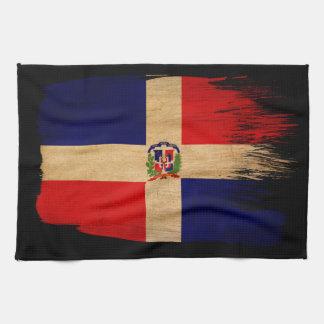 De Vlag van de Dominicaanse Republiek Theedoek