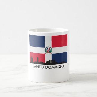 De Vlag van de Dominicaanse Republiek van de Koffiemok