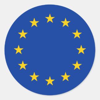 De vlag van de Europese Unie om stickers de | EU