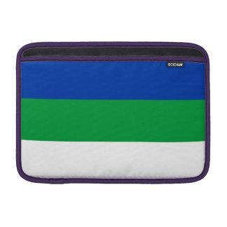De Vlag van de Komi-Republiek MacBook Beschermhoes
