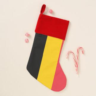 De Vlag van de Kousen van Kerstmis van België Kerstsok