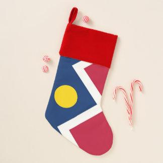 De Vlag van de Kousen van Kerstmis van Denver, Kerstsok