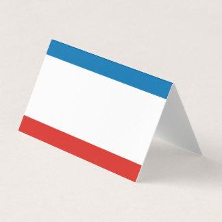 De Vlag van de Krim Plaatskaart