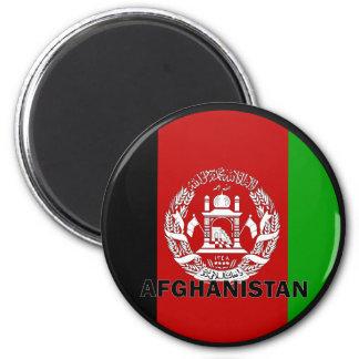 De Vlag van de kwaliteit van Afghanistan Roundel Magneet