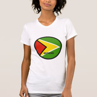 De Vlag van de kwaliteit van Guyana Roundel T Shirt