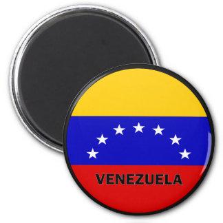 De Vlag van de kwaliteit van Venezuela Roundel Magneet