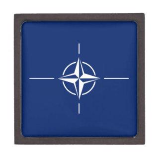 De Vlag van de NAVO Premium Decoratie Doosjes