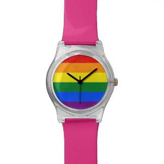 De Vlag van de regenboog Horloge