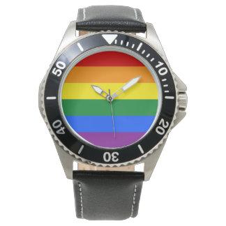 De Vlag van de regenboog Polshorloges