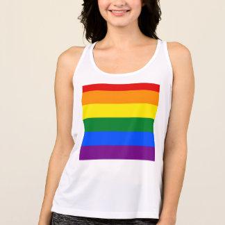 De Vlag van de regenboog Tanktop