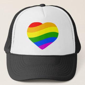 De Vlag van de regenboog Trucker Pet
