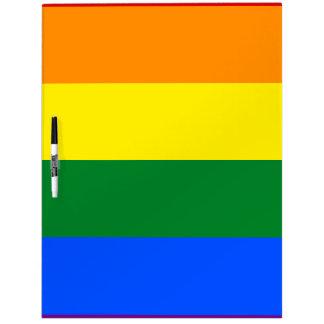 De Vlag van de regenboog Whiteboard