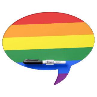 De Vlag van de regenboog Whiteboards