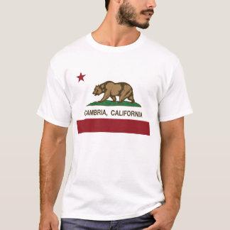 De Vlag van de Republiek van Californië van T Shirt