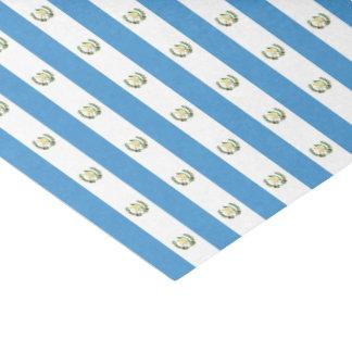De Vlag van de Republiek van Guatemala 25,4 X 38,1 Cm Zijdepapier