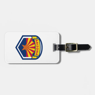 De Vlag van de Staat van Arizona Kofferlabel