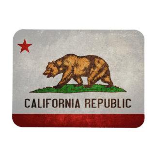 De Vlag van de Staat van Californië Magneet
