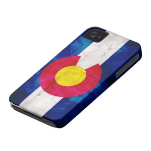 De Vlag van de Staat van Colorado iPhone 4 Hoesje