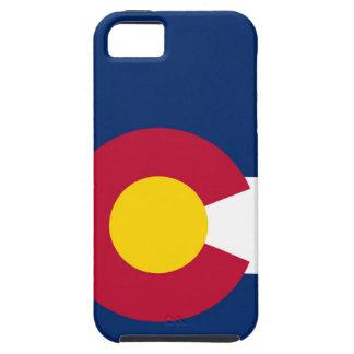 De Vlag van de Staat van Colorado Tough iPhone 5 Hoesje