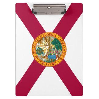 De Vlag van de Staat van Florida Klembord
