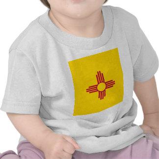 De Vlag van de Staat van New Mexico Tshirts