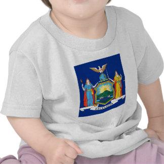 De Vlag van de Staat van New York T Shirts