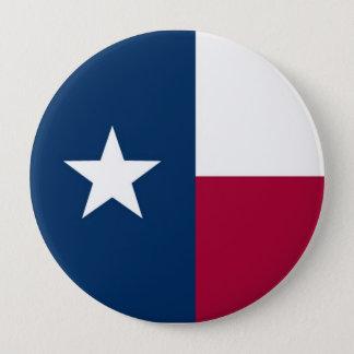 De Vlag van de Staat van Texas Ronde Button 4,0 Cm