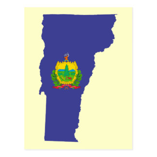 De Vlag van de Staat van Vermont Briefkaart