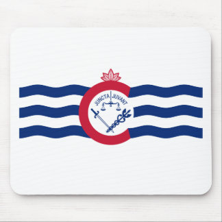 De Vlag van de Stad van Cincinnati Muismat