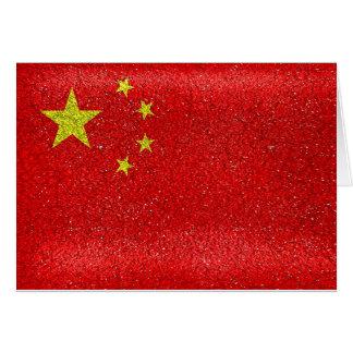 De Vlag van de Stijl van China Grunge Kaart
