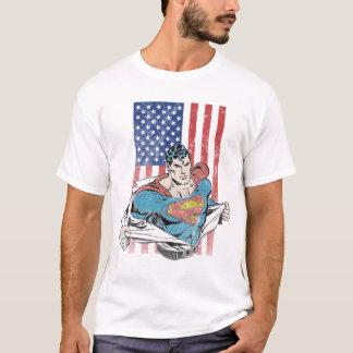 De Vlag van de superman & van de V.S. T Shirt