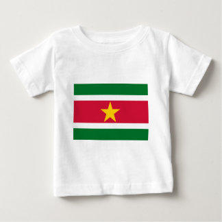 De Vlag van de Suriname Baby T Shirts