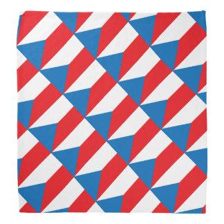 De Vlag van de Tsjechische Republiek Bandana