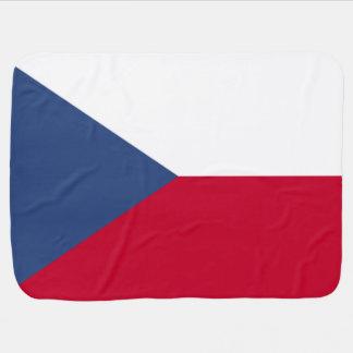 De Vlag van de Tsjechische Republiek Inbakerdoek