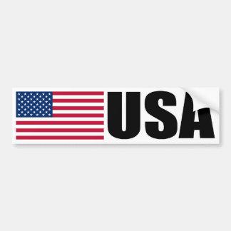 De Vlag van de V.S. Bumpersticker
