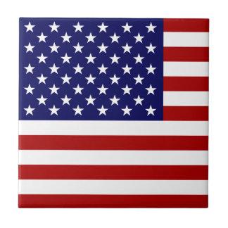 De Vlag van de V.S. Keramisch Tegeltje