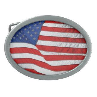 De Vlag van de V.S. voor Amerikaanse Patriotten Gespen