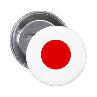 De Vlag van de Zon van Japan Ronde Button 5,7 Cm