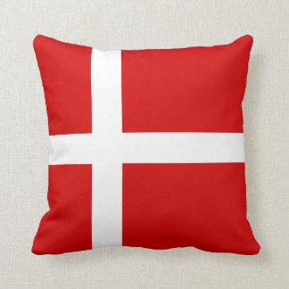 De vlag van Denemarken Sierkussen