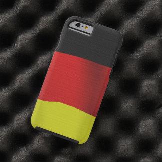 De Vlag van Duitsland van de patriot van Duitse Tough iPhone 6 Hoesje