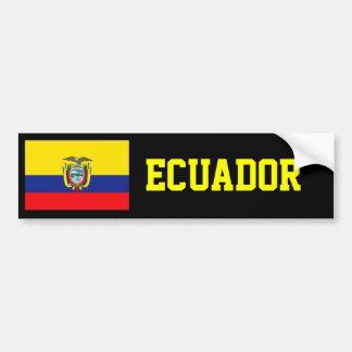 De vlag van Ecuador Bumpersticker