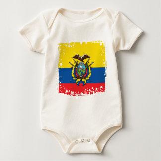 De Vlag van Ecuador, Republiek van de Kleuren van Baby Shirt