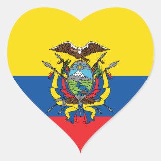 De Vlag van Ecuador, Republiek van de Sticker van