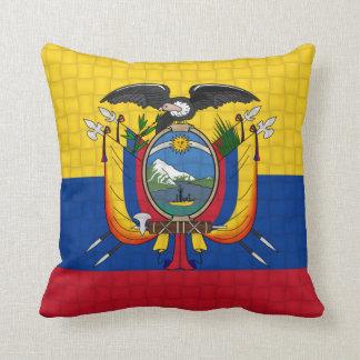 De vlag van Ecuador Sierkussen
