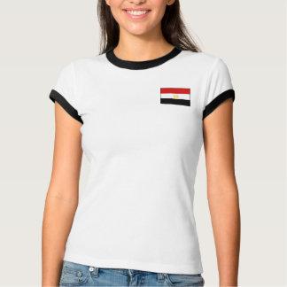 De Vlag van Egypte + De T-shirt van de kaart