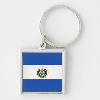 De Vlag van El Salvador Sleutelhanger