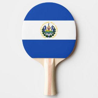De Vlag van El Salvador Tafeltennis Bat