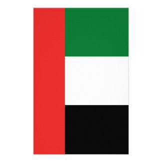 De vlag van Emiradosarabes Briefpapier