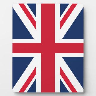 De vlag van Engeland Plaat