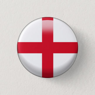De Vlag van Engeland Ronde Button 3,2 Cm